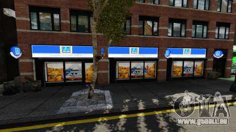 Aldi-Läden für GTA 4