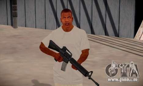 Franklin HD pour GTA San Andreas septième écran