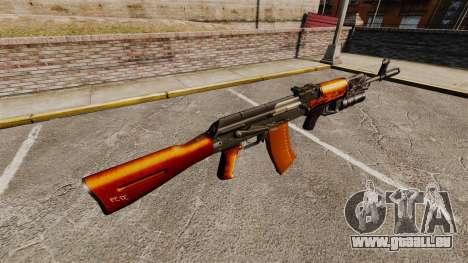 AK-47 v1 pour GTA 4 secondes d'écran