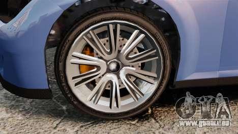 GTA V Zion XS Tuner pour GTA 4 Vue arrière