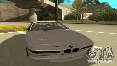 BMW 850CSi 1996 Stock version für GTA San Andreas linke Ansicht