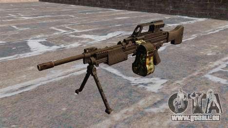 Mitrailleuse légère de HK MG4 pour GTA 4