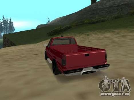 Chevrolet Silverado ATTF pour GTA San Andreas vue de droite