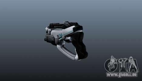Pistolet M5 Phalanx pour GTA 4 secondes d'écran