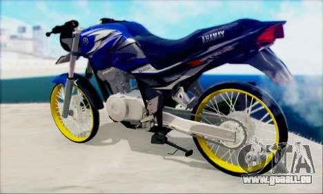 Yamaha 225R Scorpio Z pour GTA San Andreas laissé vue