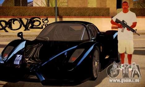 Franklin HD pour GTA San Andreas troisième écran