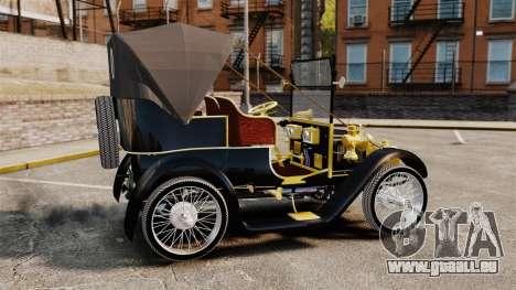 Voitures anciennes 1910 pour GTA 4 est une gauche
