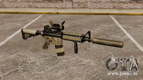 M4 Karabiner mit Schalldämpfer v1 für GTA 4