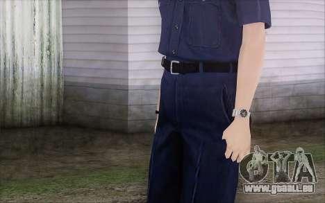 GTA 5 Police Woman für GTA San Andreas dritten Screenshot