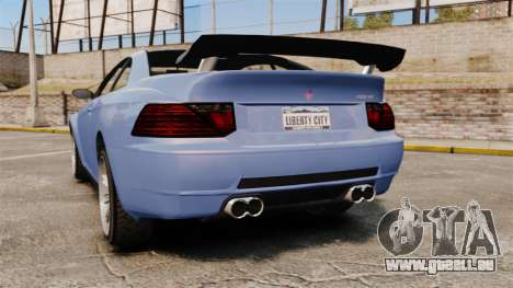 GTA V Zion XS Tuner pour GTA 4 Vue arrière de la gauche
