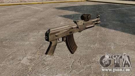 AK-47-Draco für GTA 4 Sekunden Bildschirm