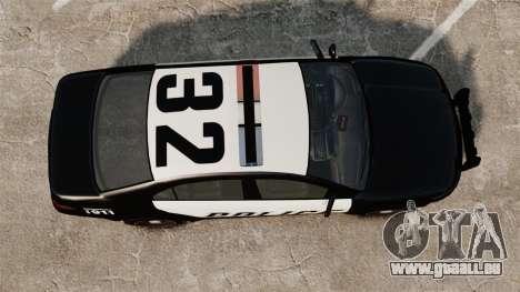 GTA V Vapid Police Interceptor pour GTA 4 est un droit