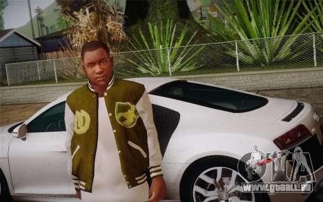 Franklin c. peau 2 pour GTA San Andreas