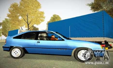 Chevrolet Kadett GS 2.0 pour GTA San Andreas laissé vue