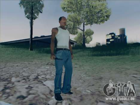 Battlefield 2142 Knife pour GTA San Andreas quatrième écran
