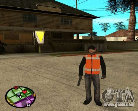 Constructeurs pour GTA San Andreas deuxième écran