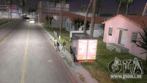 Mercedes Benz Atego pour une vue GTA Vice City de la droite