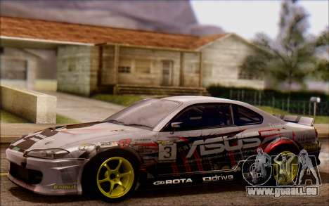 Nissan S15 Asus Team pour GTA San Andreas
