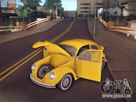 Volkswagen Käfer für GTA San Andreas Unteransicht