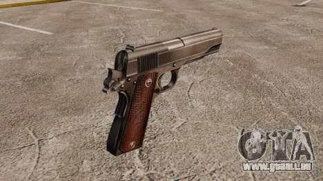 Colt M1911 pistolet v4 pour GTA 4 secondes d'écran