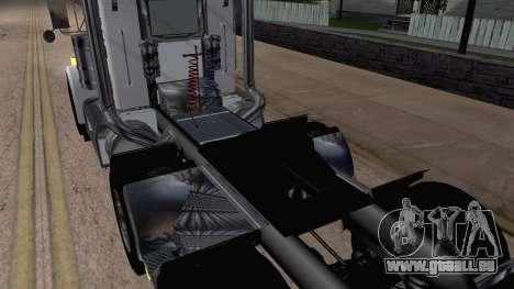 Peterbilt 379 Papa Clyde pour GTA San Andreas vue arrière