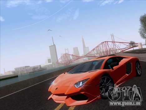 Lamborghini Aventador LP720-4 2013 pour GTA San Andreas