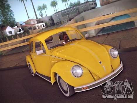 Volkswagen Käfer für GTA San Andreas linke Ansicht