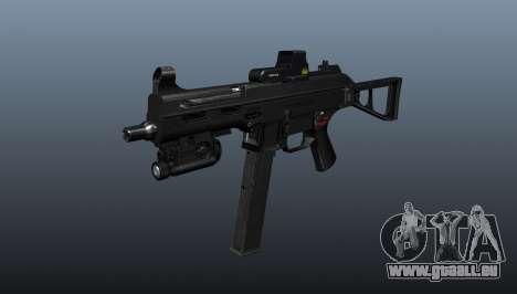 Submachine Gewehr HK UMP 45 für GTA 4