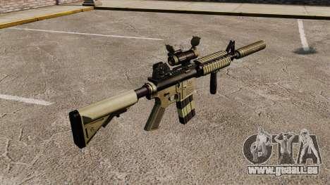 M4 Karabiner mit Schalldämpfer v1 für GTA 4 Sekunden Bildschirm