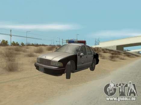 Chevrolet Caprice LVPD 1991 pour GTA San Andreas