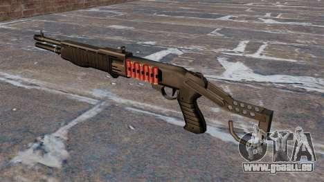 V2.0 de Armageddon pour le fusil de chasse Franc pour GTA 4 secondes d'écran