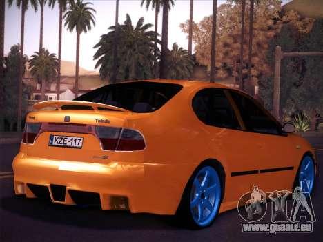Seat Toledo Cupra R pour GTA San Andreas laissé vue