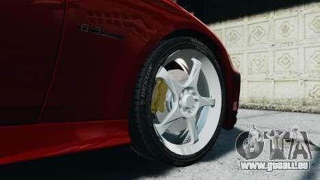 Mercedes-Benz CLS AMG pour GTA 4 Vue arrière