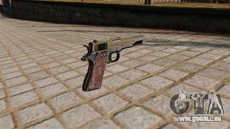 Colt M1911A1 pistolet pour GTA 4 secondes d'écran