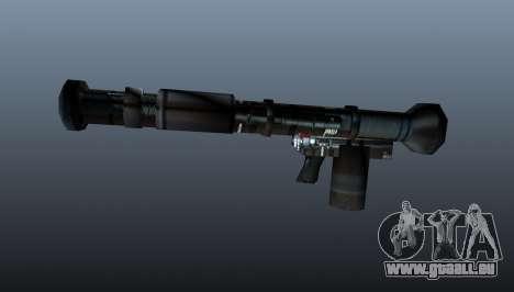 Lance-grenades antichars portatifs pour GTA 4 troisième écran