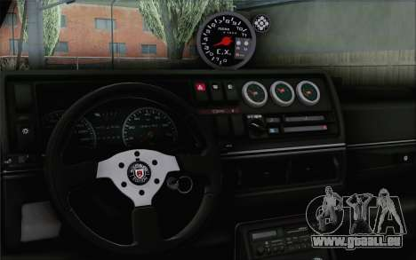Volkswagen Jetta Mk2 für GTA San Andreas zurück linke Ansicht