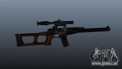 VSS Vintorez Scharfschützengewehr für GTA 4 dritte Screenshot