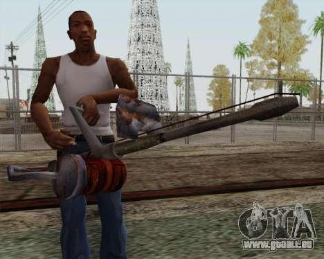 Nouveau lance-flammes pour GTA San Andreas troisième écran