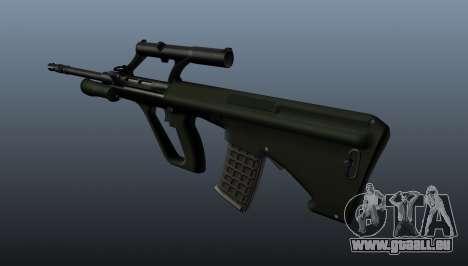 Fusil automatique de Steyr AUG pour GTA 4 secondes d'écran