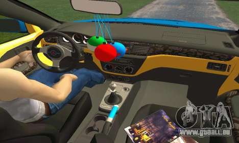 Mitsubishi Evo IX Wagon S-Tuning pour GTA San Andreas salon