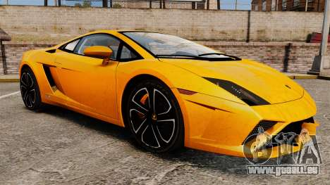 Lamborghini Gallardo 2013 für GTA 4 Seitenansicht