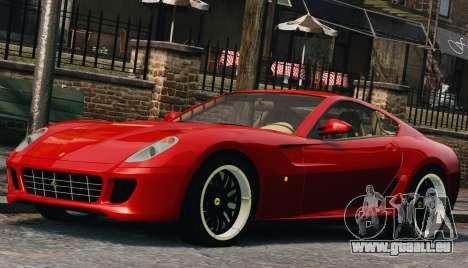 Ferrari 599 GTB Hamann 2006 pour GTA 4 est un côté