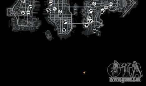 Emplacement Luxville Point Blank pour GTA 4 huitième écran