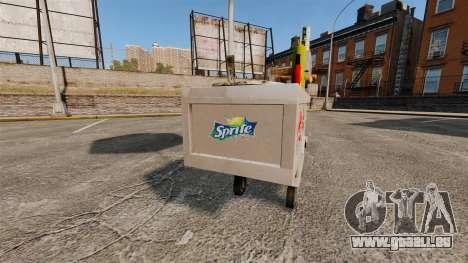 Nouvelles textures de charrettes de Hot-Dog pour GTA 4 troisième écran