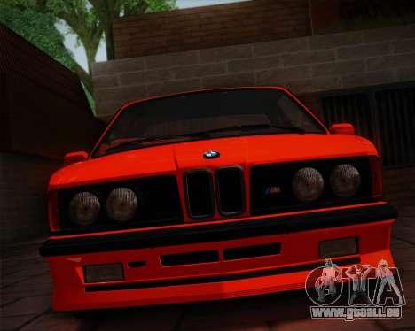 BMW E24 M635 1984 pour GTA San Andreas vue de côté