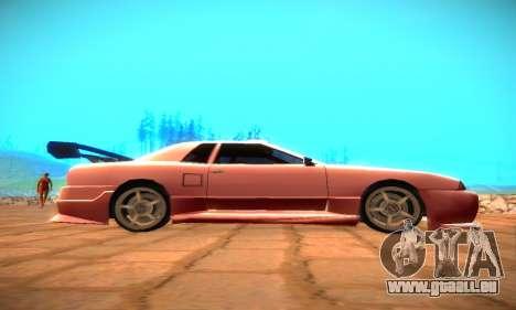 Elegy Hybrid pour GTA San Andreas vue de droite