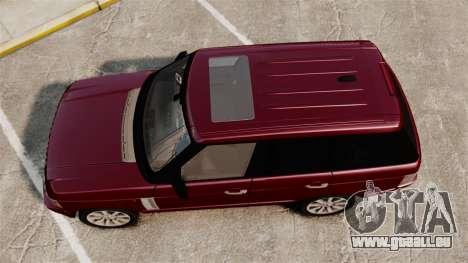 Range Rover Supercharged pour GTA 4 est un droit