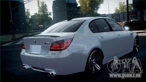 BMW M5 E60 für GTA 4 hinten links Ansicht