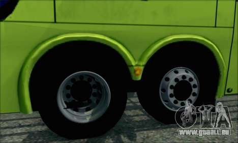 Marcopolo Paradiso G6 Tur-Bus pour GTA San Andreas sur la vue arrière gauche