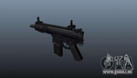 Shortstuff fusil KAC PDW pour GTA 4 secondes d'écran